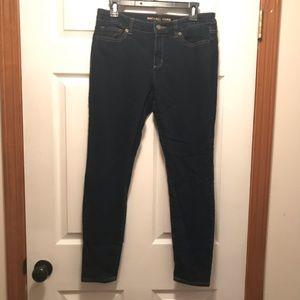 Michael Kors Skinny Dark Denim Jeans Size 6